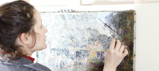 Gemälde reinigen