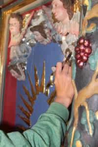 Fassungsfestigung, Konservierung und Restaurierung