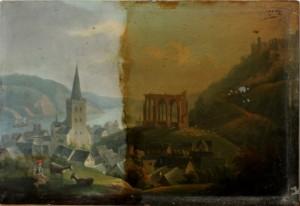 Gemälde-Reinigen